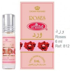 Roses - 6ml (.2 oz) Perfume Oil by Al-Rehab (Crown Perfumes)